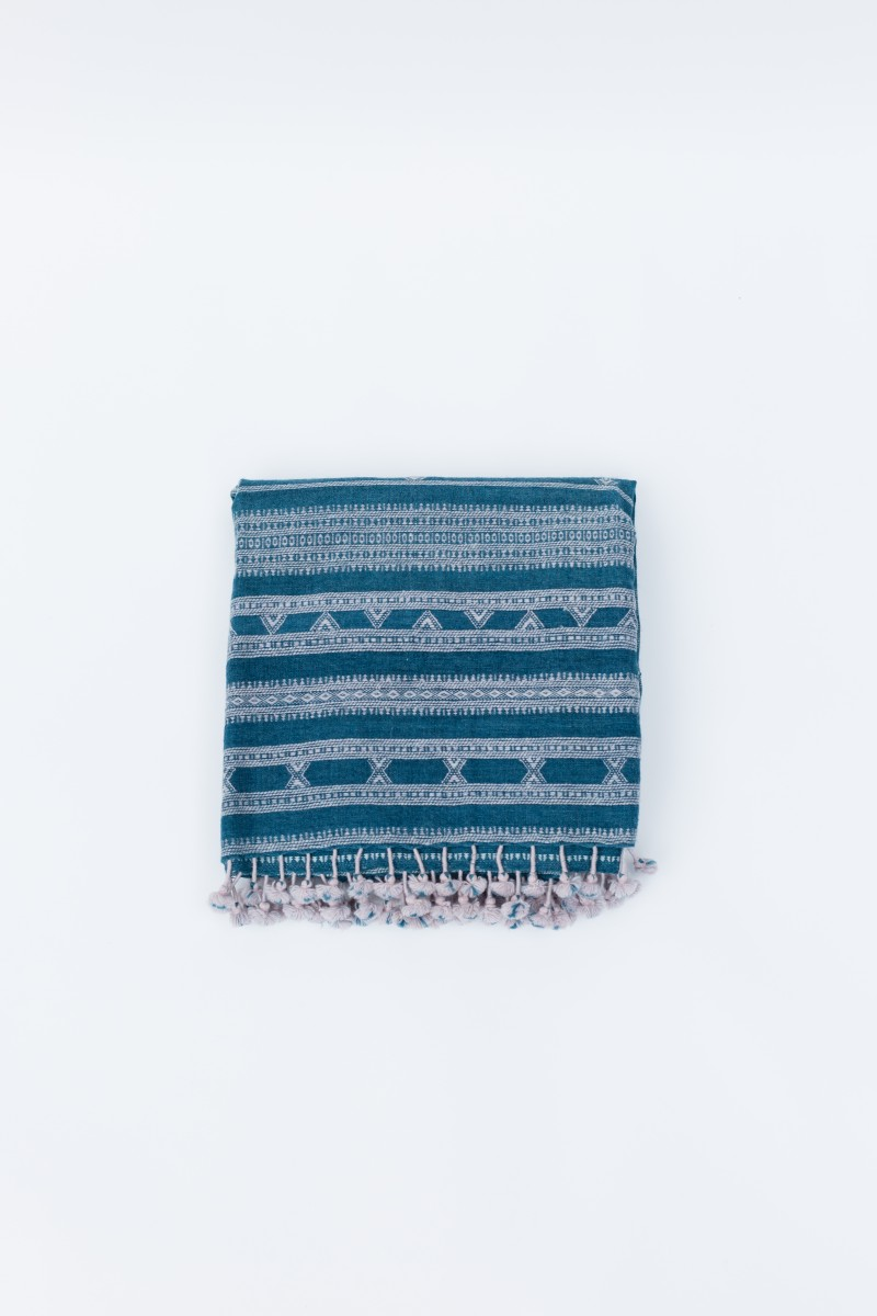 Ocean Side Kutch Throw Square Fold (1)