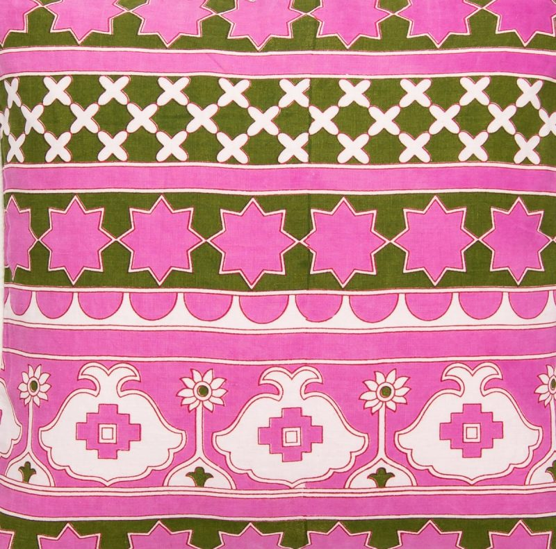 Damascus Hot Pink and Green