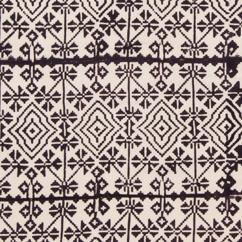 Ikat in Charcoal