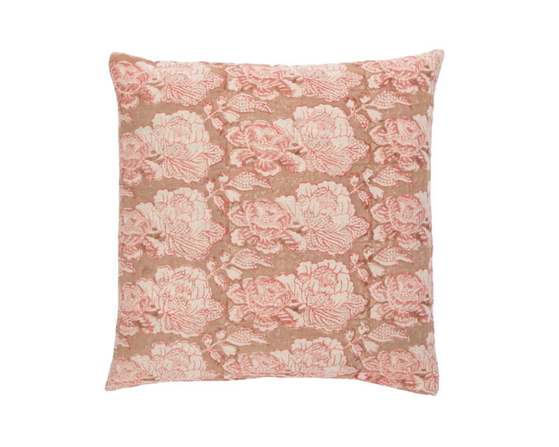 Cabbage Rose Vintage Rose Coral Clay